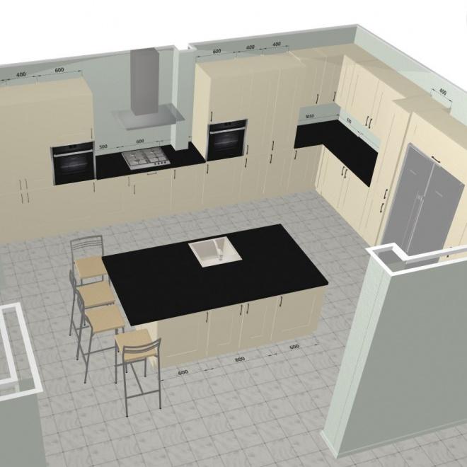 3D Kitchen Planner : Design A Kitchen Online
