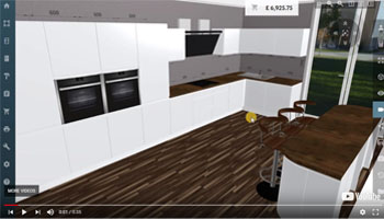 3D Kitchen Planner : Design a kitchen online - free and easy.