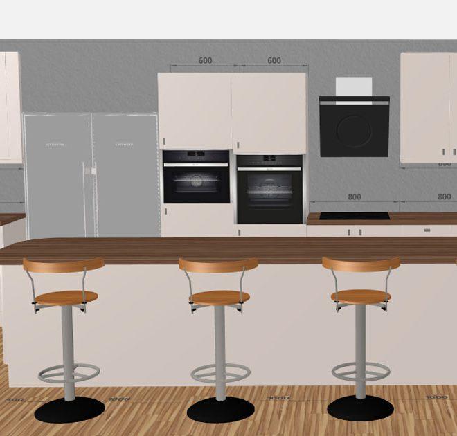 Design Your Own Kitchen Layout: 3D Kitchen Planner : Design A Kitchen Online